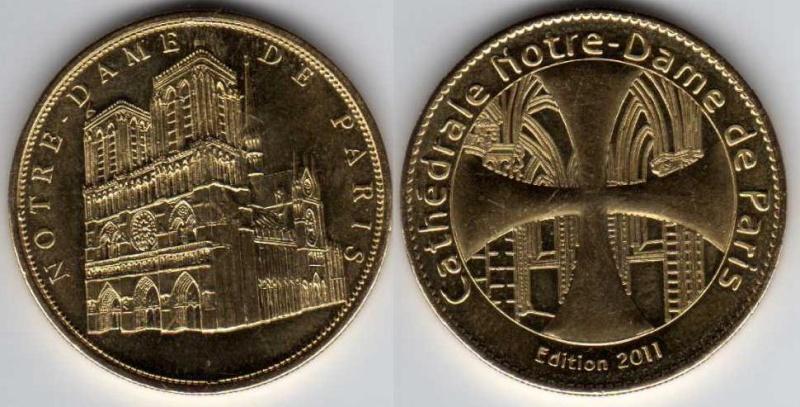 Médailles Arthus Bertrand - Cathédrale de Strasbourg N_d_de10