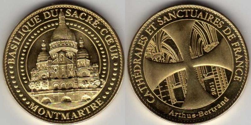 Médailles Arthus Bertrand - Cathédrale de Strasbourg Sacra_10