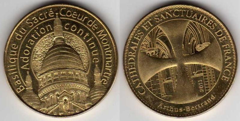 Médailles Arthus Bertrand - Cathédrale de Strasbourg Sacra_11