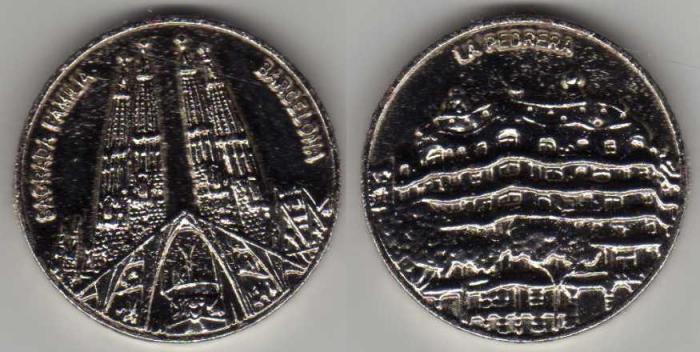 médailles souvenirs de vacances Sagrad10