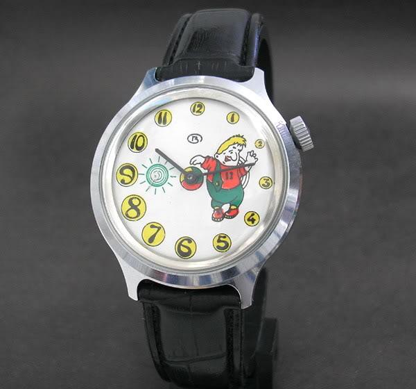 montres soviétiques (pobeda, vostok) avec des personnages Disney…? W0111