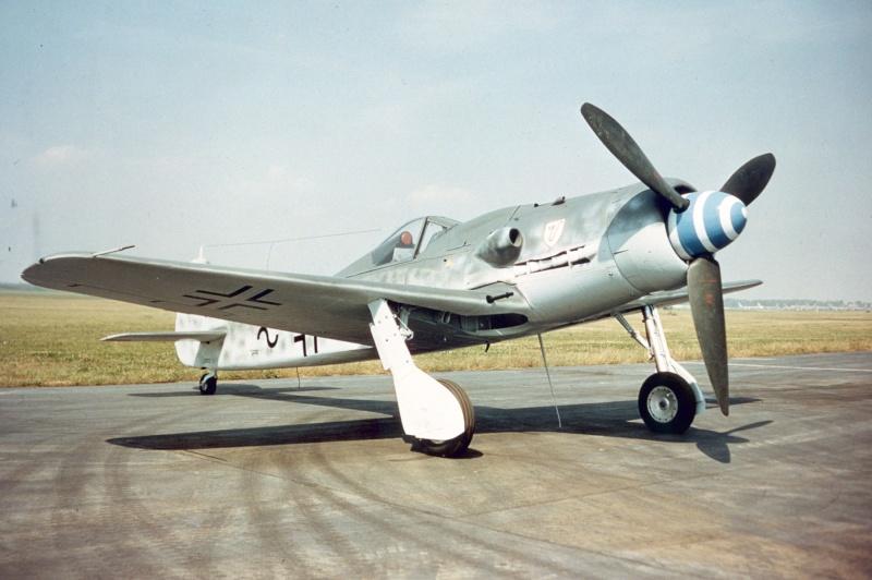 """Le Fock Wulf 190 D """"long nez"""" Focke-10"""