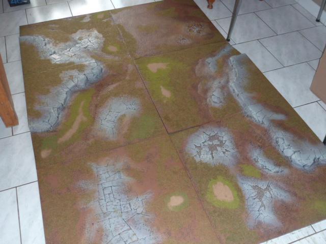 Modélisme [Décor] Table de jeu citadel 1510
