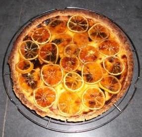 Tarte aux citrons confits Citron11