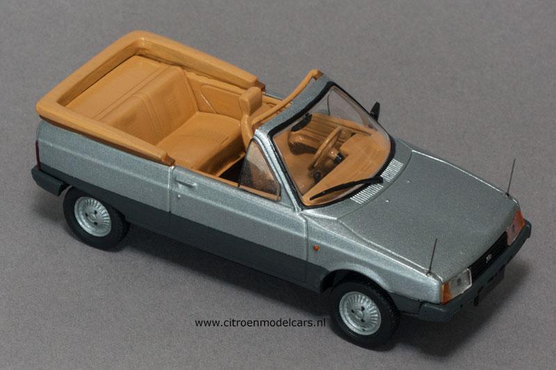 """La dernière """"vraie Citroën"""" ou l'art d'accommoder les restes ! Oltcit14"""