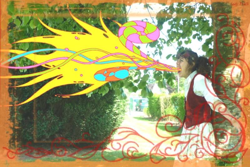Coups de crayons entre coups d'archets... Colore11