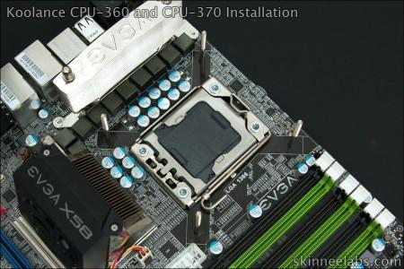 Koolance CPU-370 Review  D10