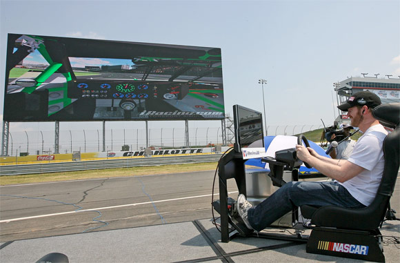 Panasonic's World's Largest HD Video Board Unveiled At NC Raceway Nascar10