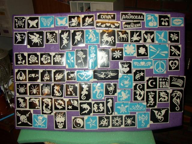 Tattoo Stencil Display and Storage Pa280010