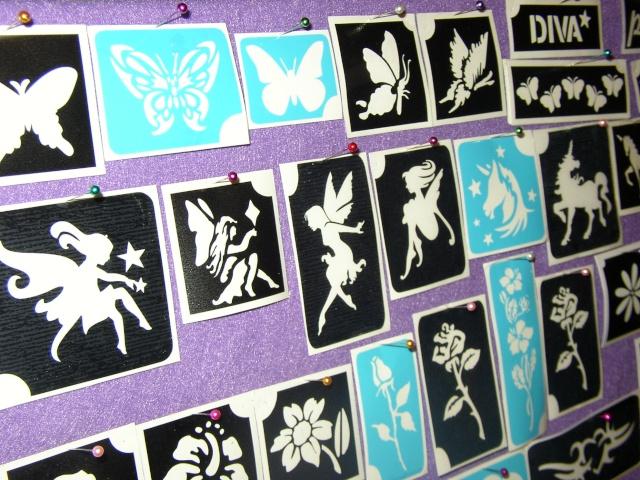 Tattoo Stencil Display and Storage Pa280011