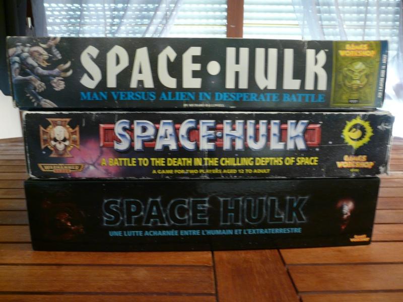 les 3 versions de space hulk P1140010