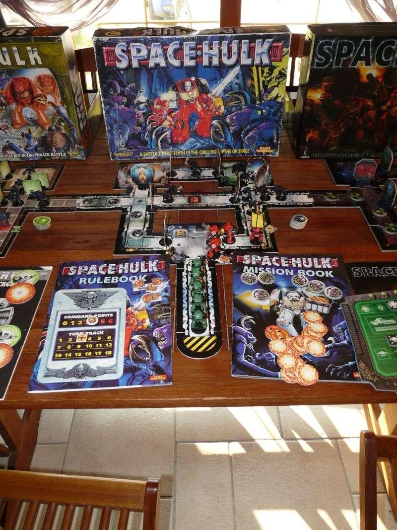 les 3 versions de space hulk P1140014