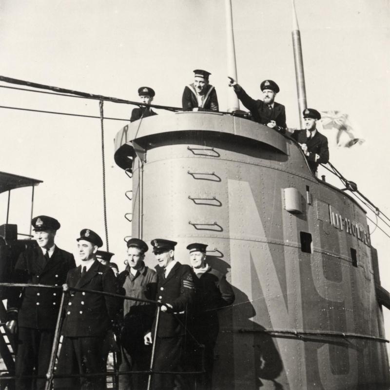 HMS Upholder's loss...anniversary yesterday. 22130310
