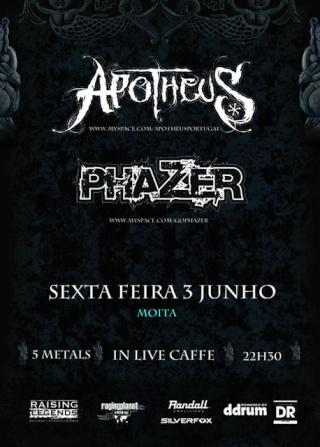 2011.06.03 - Phazer + Apotheus (In Live Caffe, Moita) Cartaz12