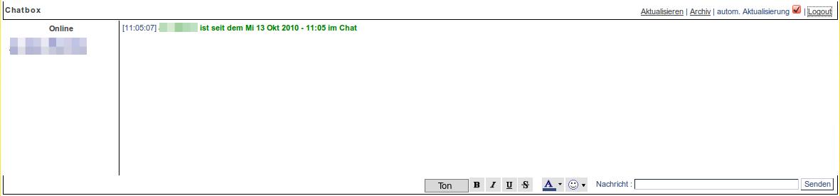 Chatbox Ton Vorsch10