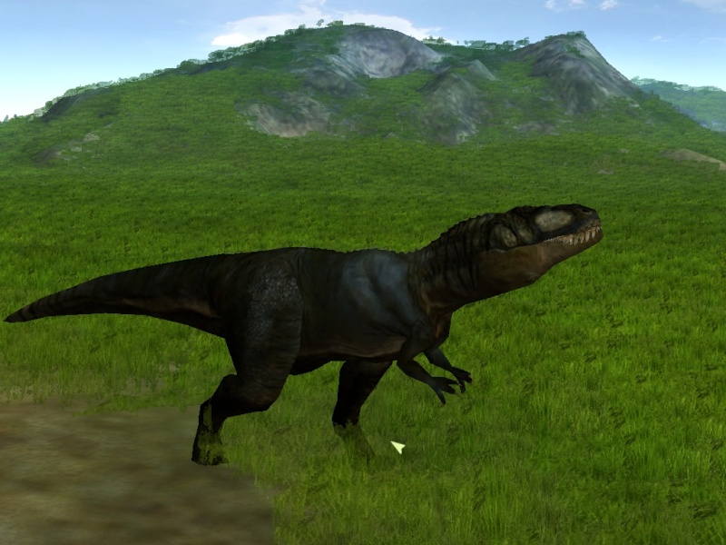 7DA's MR Carcharodontosaurus updated  Simjp_24