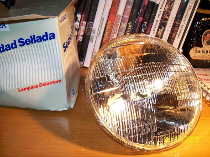 Reflector y vidrio de foco 293_0814