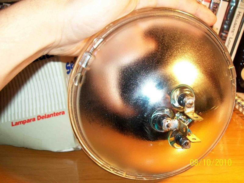 Reflector y vidrio de foco 293_0815