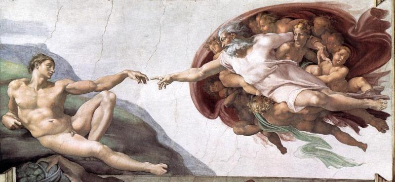 The Archetyped CosmoGenesis of the Human Metamorphosis  4creat11