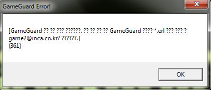 Gameguard Error Gvgf10