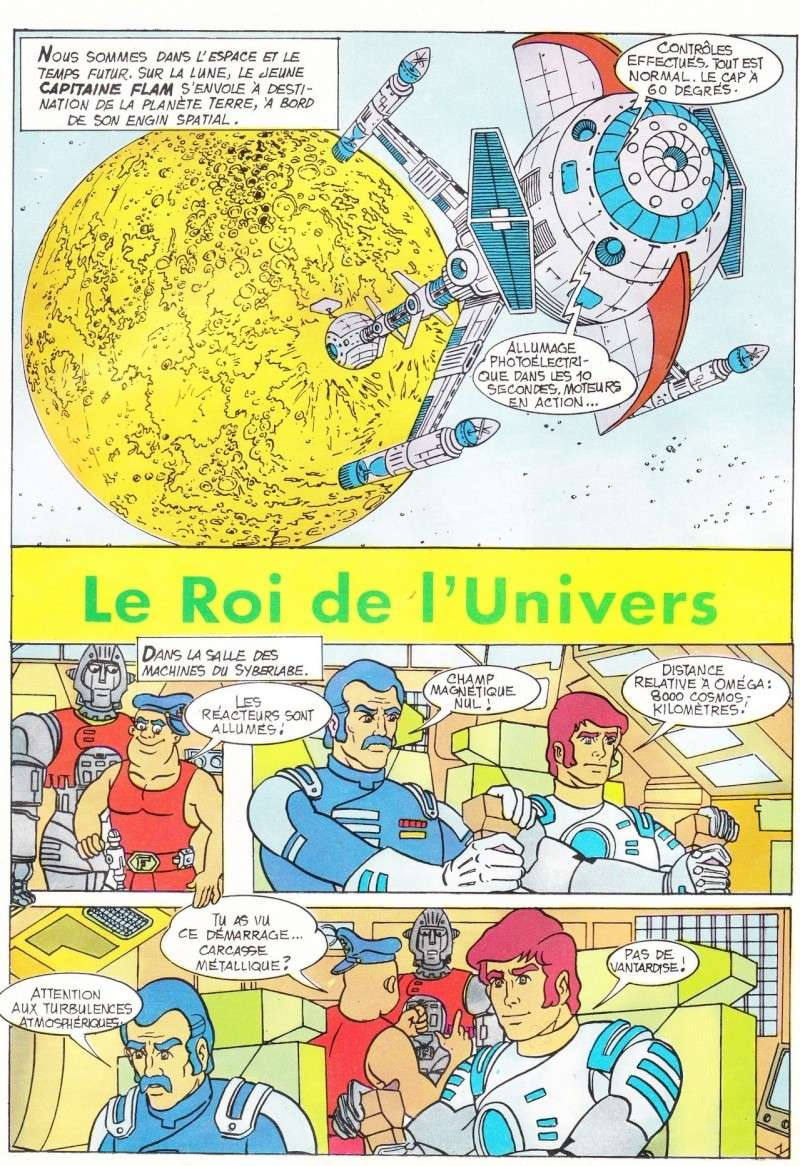 JOURNAL DU CAPITAINE FLAM  N°1  -  LE ROI DE L'UNIVERS Journa12