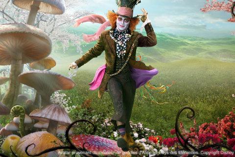 Wallpapers Alice au Pays des Merveilles Disney10