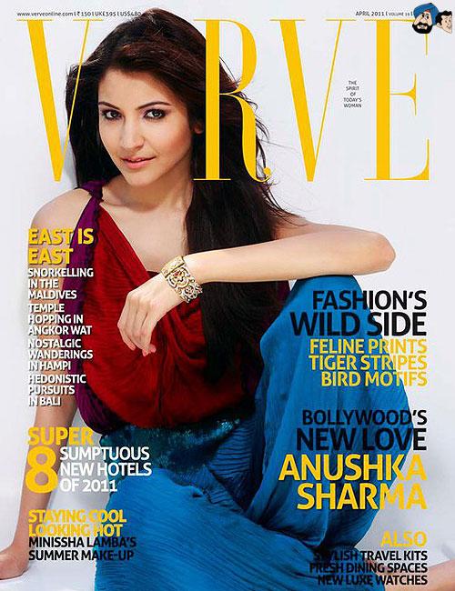 Bollywoodské časopisy Anushk11
