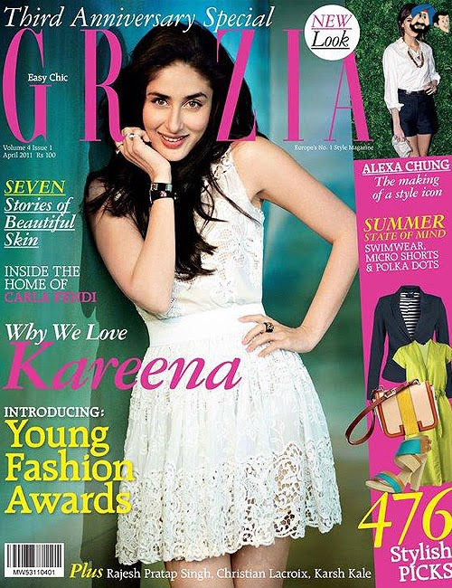 Bollywoodské časopisy Kareen18