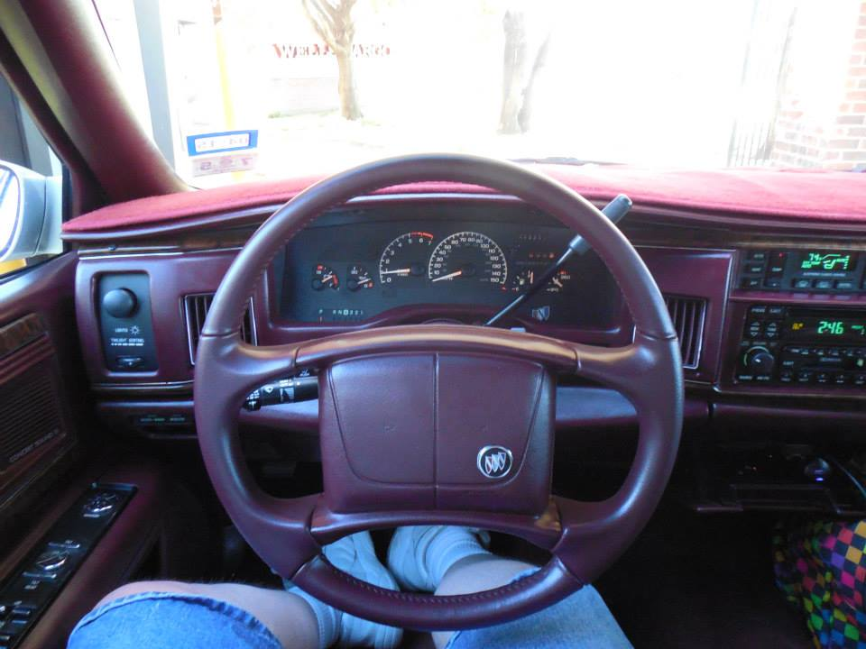 Camaro cluster in 95 roadmaster 10371911