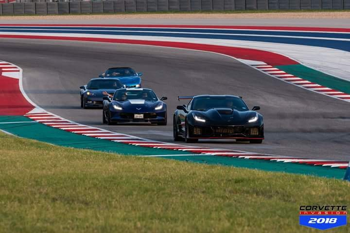 Corvette Invasion 2018 - Circuit of the Americas F1 racetrack here in Austin TX 38085010