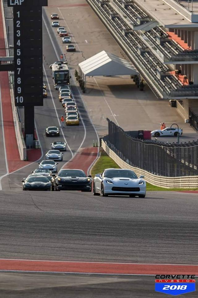 Corvette Invasion 2018 - Circuit of the Americas F1 racetrack here in Austin TX 38085810