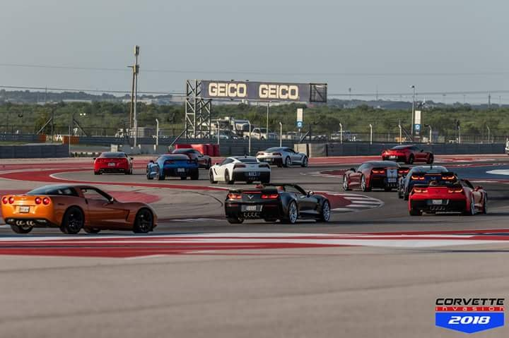 Corvette Invasion 2018 - Circuit of the Americas F1 racetrack here in Austin TX 38207510