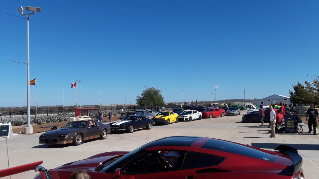 Hagerty Show & Shine and Camaro Corral at COTA - Austin Tx 11/3/18 45467610