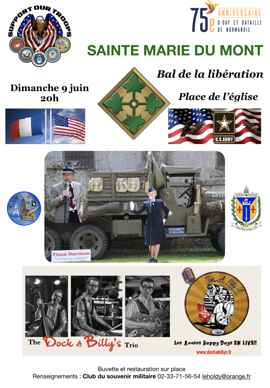 SAINTE MARIE DU MONT 1944/2019 Bal11