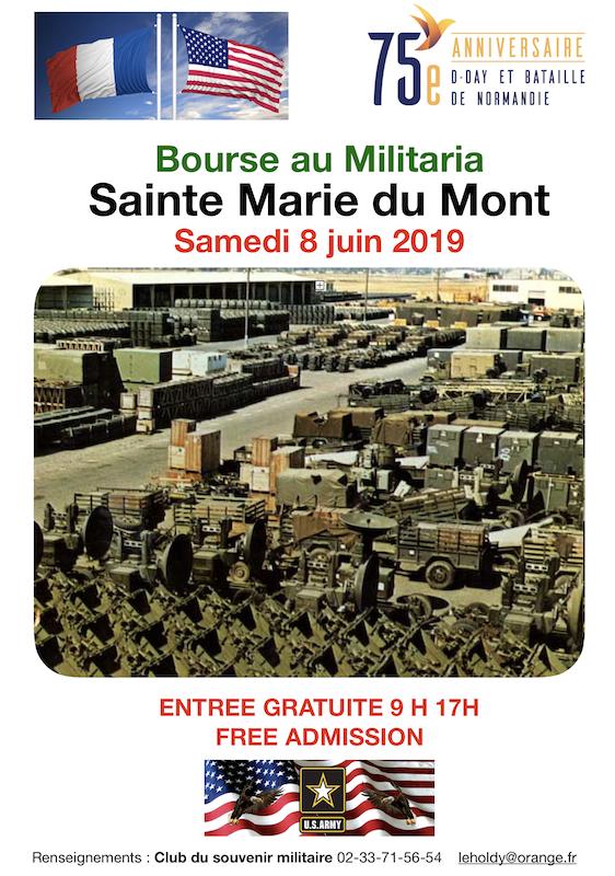 SAINTE MARIE DU MONT 1944/2019 Bourse11