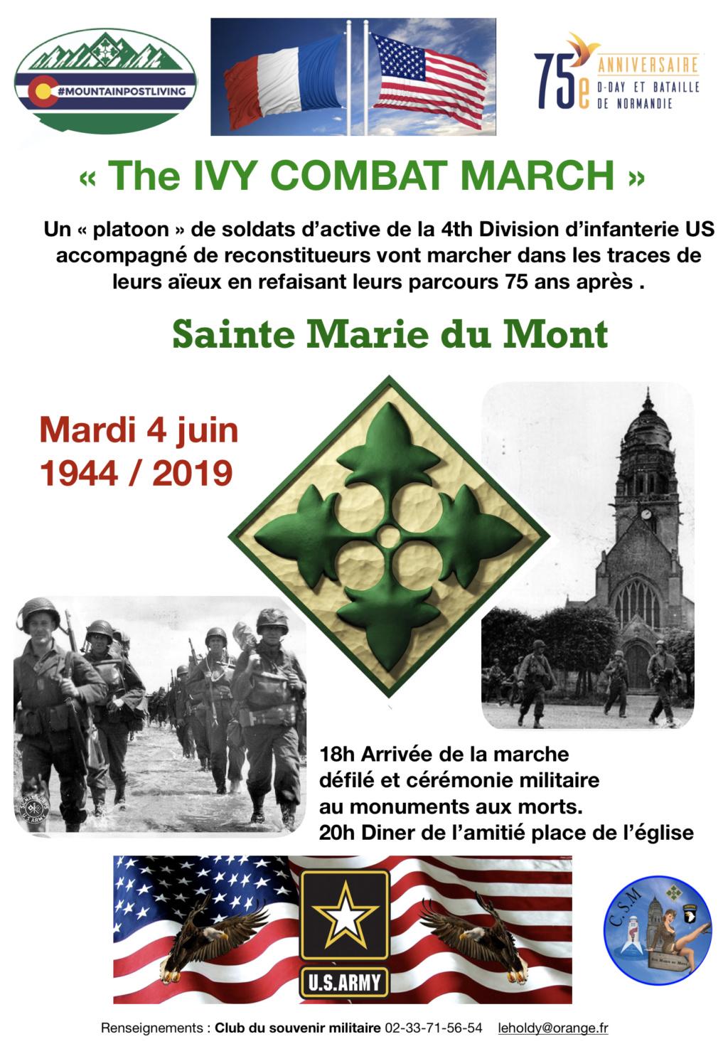 SAINTE MARIE DU MONT 1944/2019 Marche11