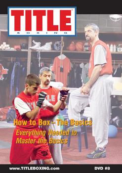 Tittle Boxing dvd aprende lo básico del boxeo con estos videos. Dvd-8_10
