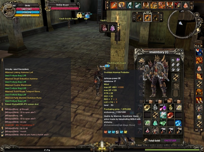 [DONE]WTS Warrior Gear Shaiya12