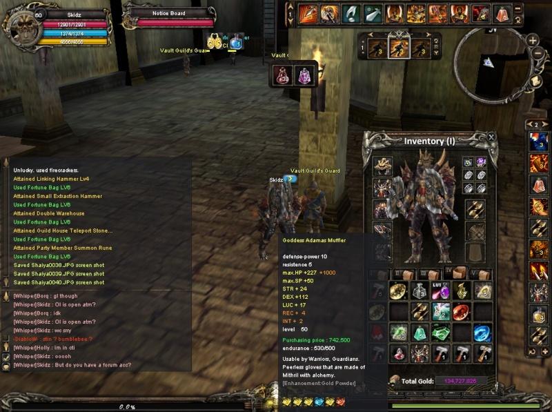 [DONE]WTS Warrior Gear Shaiya14