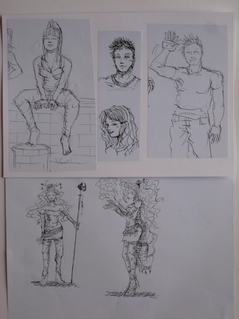 Mes dessins et autre projets de cours! Croqui11