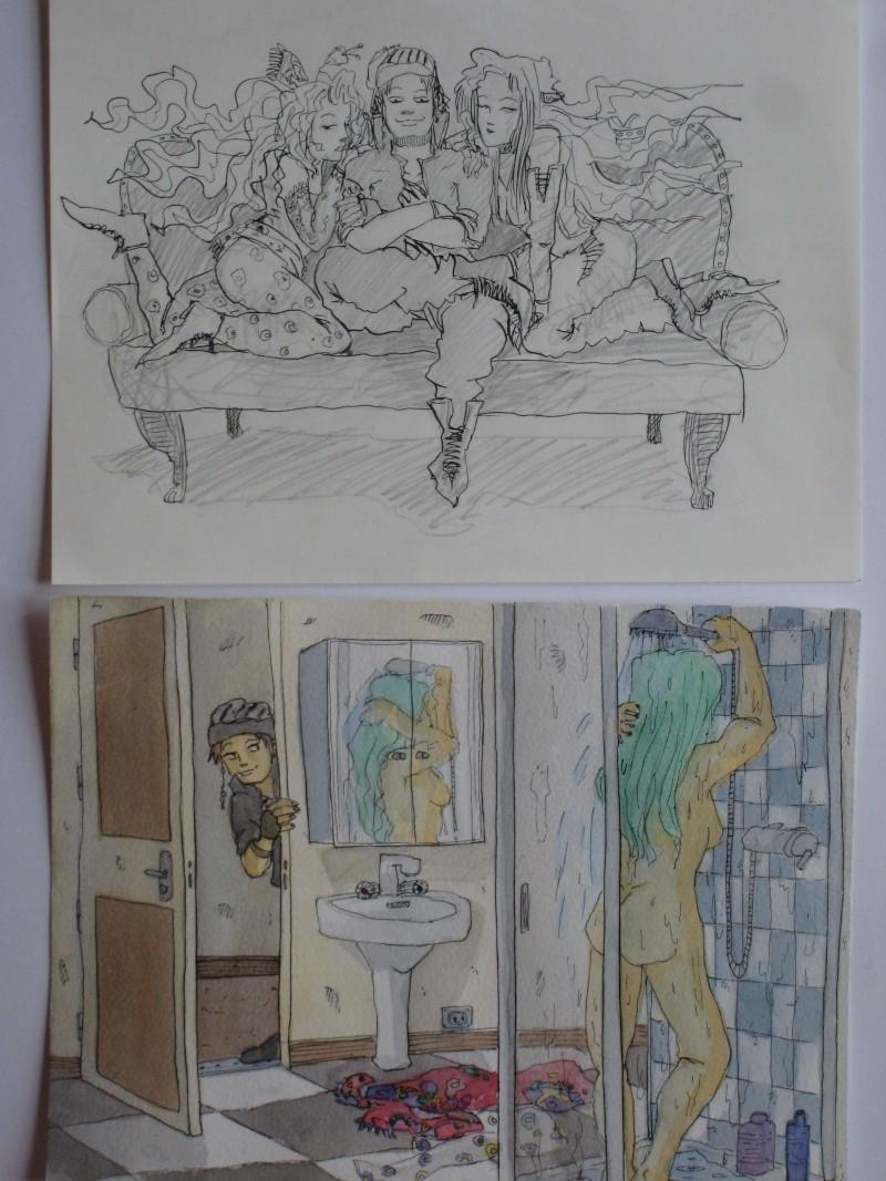 Mes dessins et autre projets de cours! Illust10