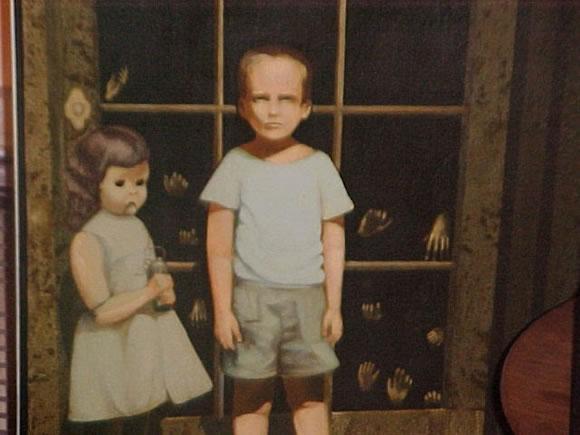 La Pintura Embrujada de eBay Pintur10