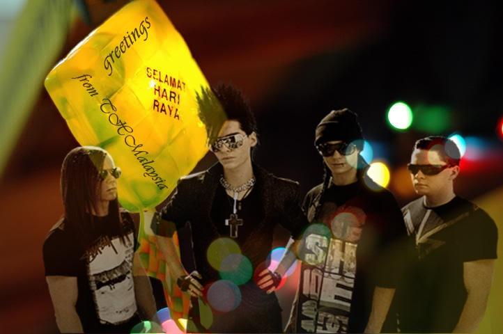 Tokio Hotel Malaysia Greetings Selama10