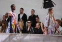 Bill attends another fashion show. Weltde12