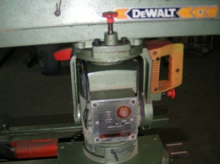 Dewalt scie radiale (DW 100 & 125) De210