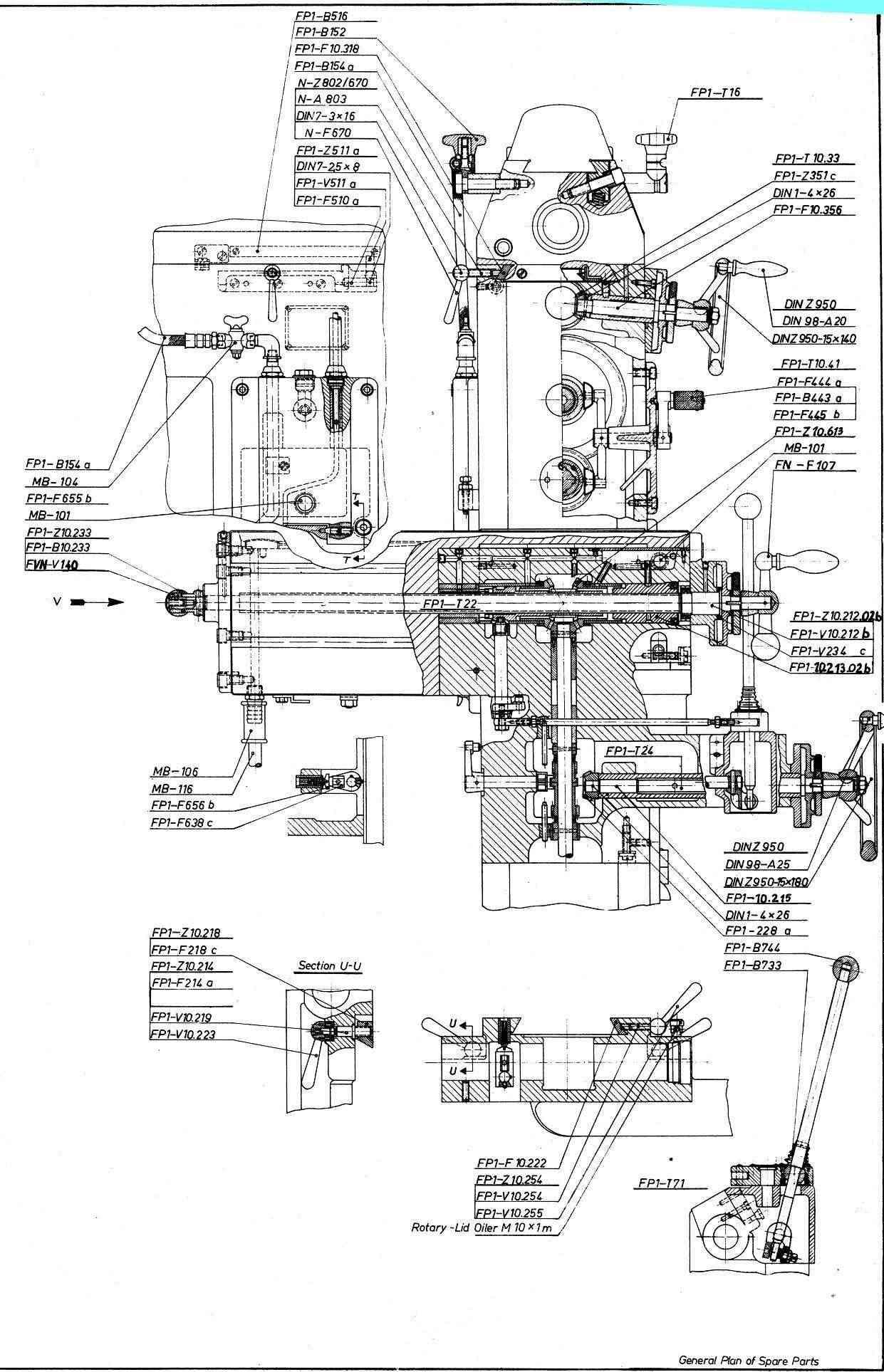 Deckel FP1 Fp1_910