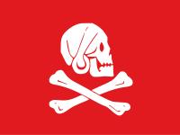 Il simbolo indissolubile dei pirati: IL JOLLY ROGER 200px-10