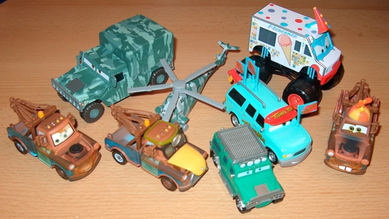Mes petites Cars ! by nascar_vd 110
