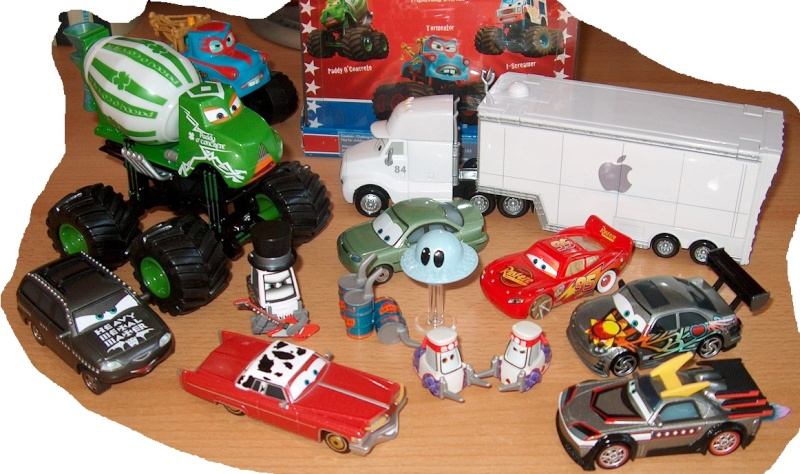 Mes petites Cars ! by nascar_vd 17vd10