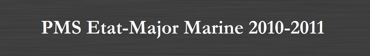 Forum PMS Etat-Major Marine
